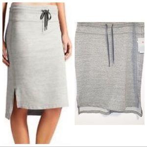 Athleta Bay View Heather Grey Skirt-XL NWT